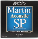 Martin SP Phosphor Bronze Medium MSP4200 Acoustic Guitar Strings 013-056